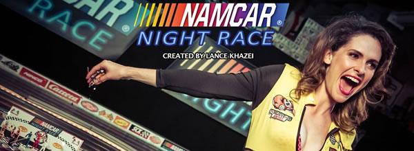 Namcar Night Race: Une série TV sur le slot racing