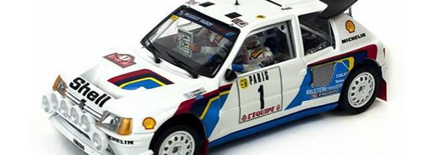 SRC / OSC: la Peugeot 205 T16 Evo 2 Timo Salonen Rallye Monte-Carlo 1986