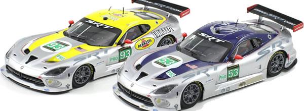 Scaleauto: Deux SRT Viper GTS-R bientot sur les pistes de slot