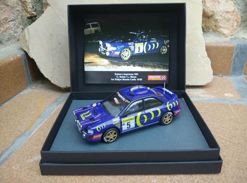 Scalextric Passion: la Subaru Impreza 555 Monte Carlo 1995
