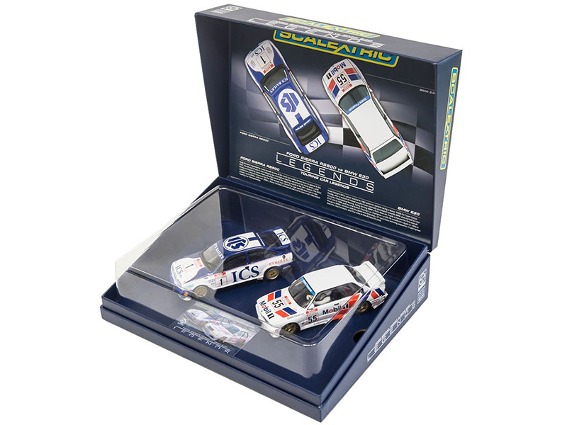 "Coffret ""Touring Car Legends Twinpack"" -Ford Sierra RS500 & BMW E30 - Ref: C3693A"