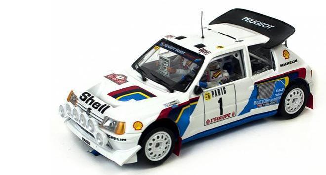 La Peugeot 205 T16 Evo 2 Timo Salonen Rallye Monte-Carlo 1986