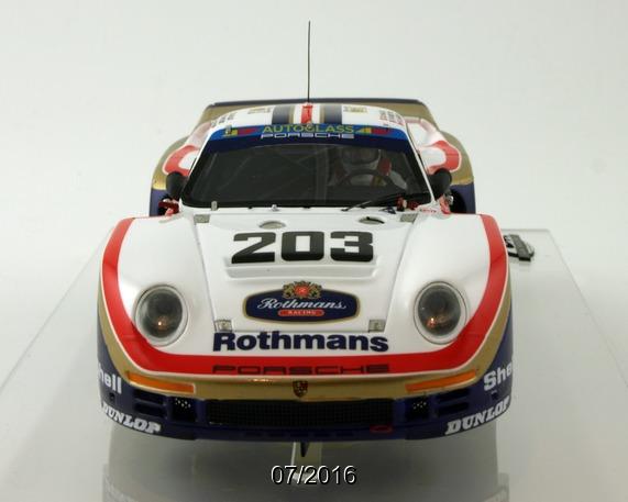 Le Mans miniatures: la Porsche 961 Le Mans 1987 #203