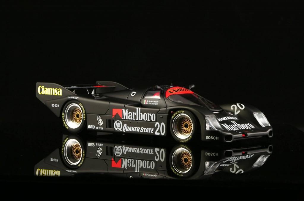 Porsche 962 n ° 20 Marlboro Team Davey Black Edition. BRM-052 - Edition limitée à 100