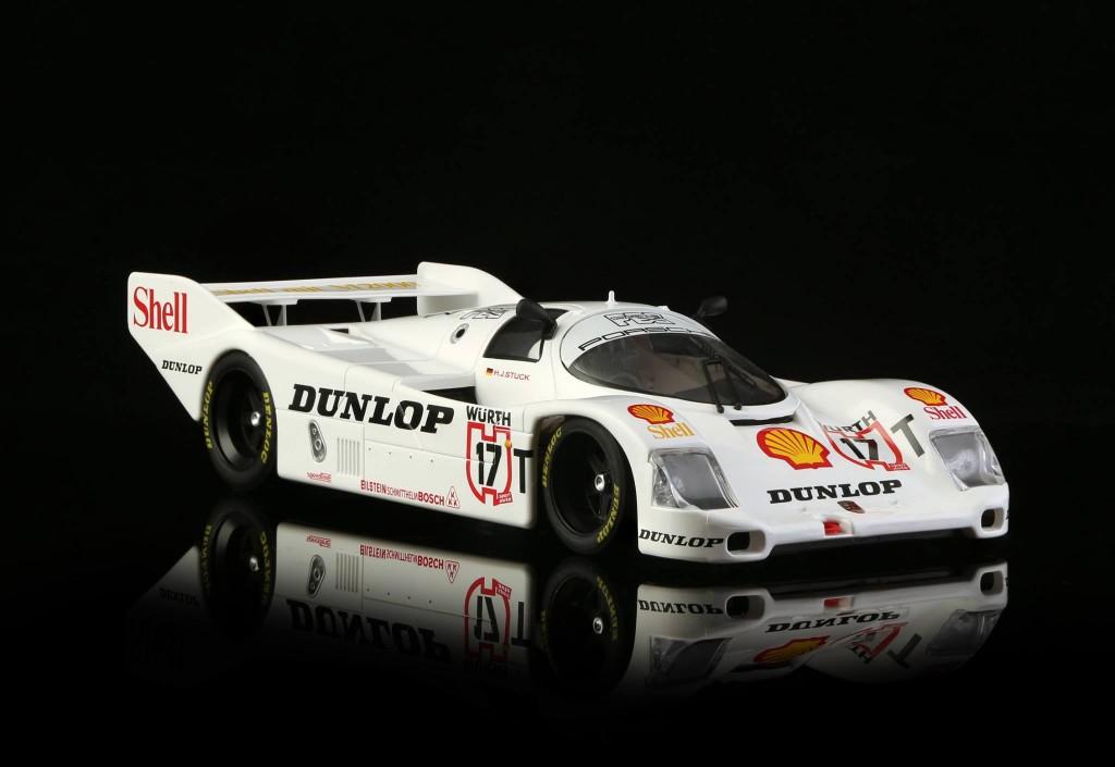 Porsche 962 n ° 17 Test de voitures équipe Porsche AG. BRM-049W - Edition limitée à 100