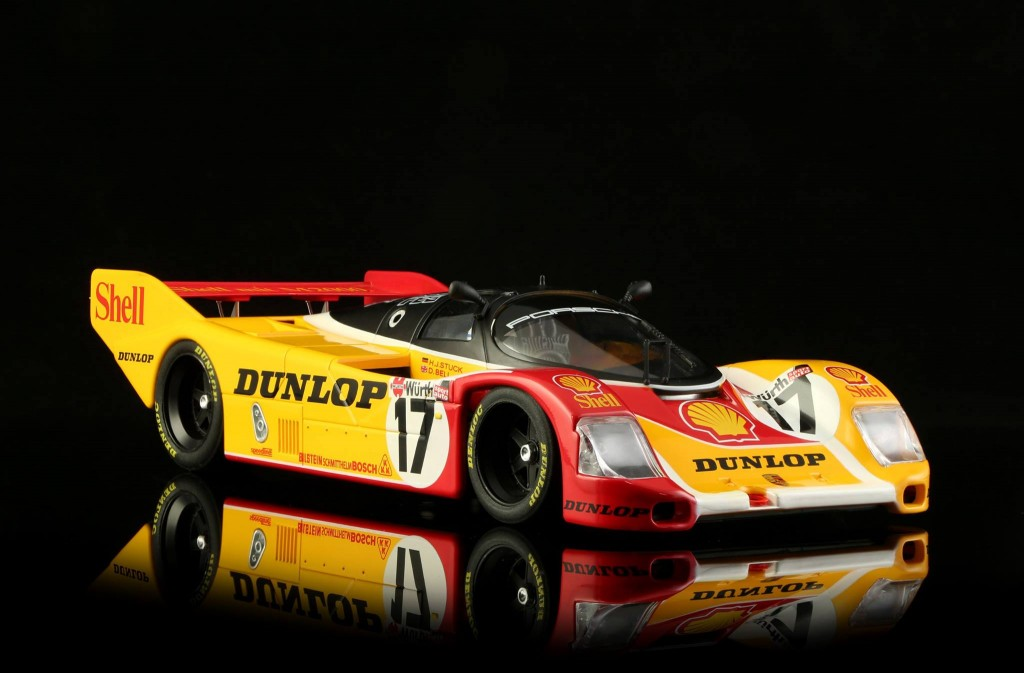 Porsche 962 n ° 17 Shell 200 Milles Norisbring 1987. BRM-049 - Edition limitée à 200