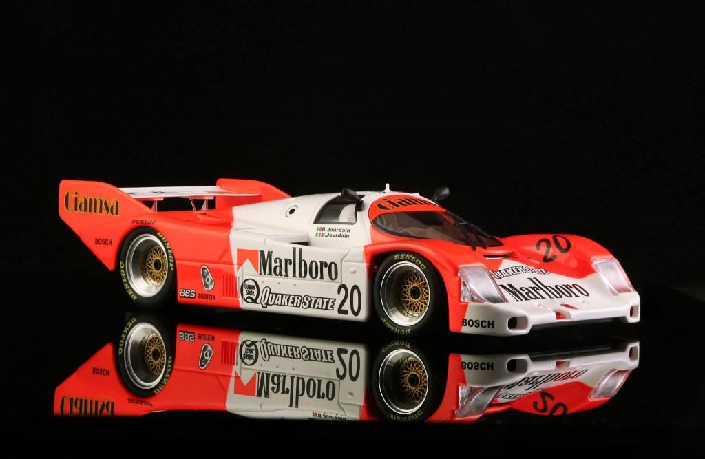 Porsche 962 n ° 20 Marlboro 480 km. Mexique 1990. BRM-051 - Edition limitée à 300