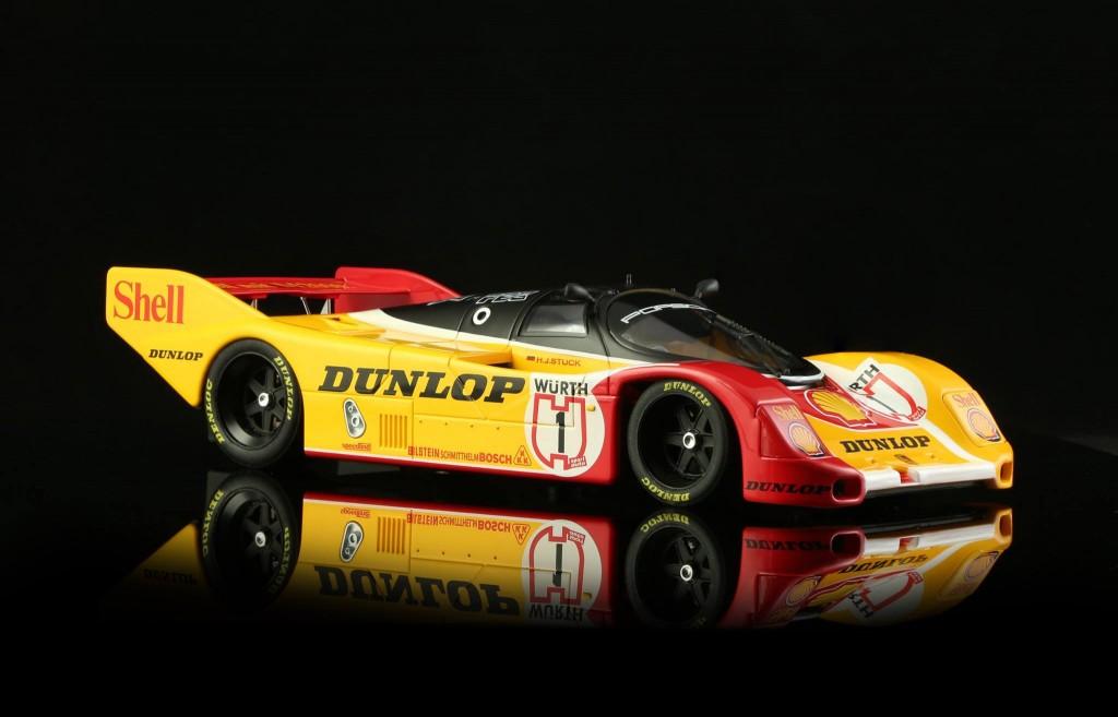 Porsche 962 n ° 1 Dunlop SuperCup 1988 Nürburgring. BRM-050 - Edition limitée à 100