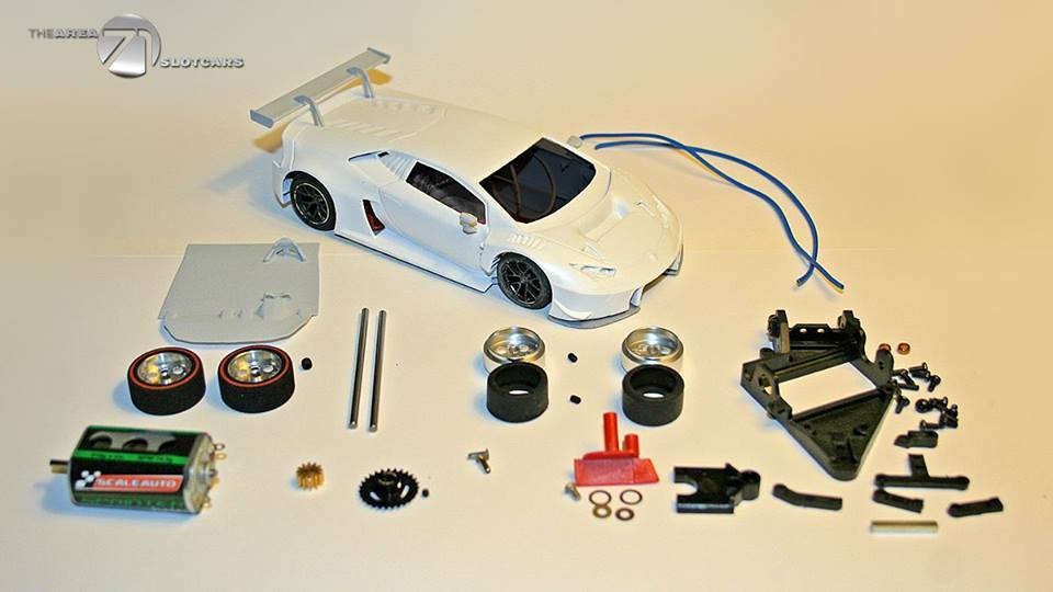 The Area71Slot Car: le détail des Kits de la Lamborghini Huracan Gt3