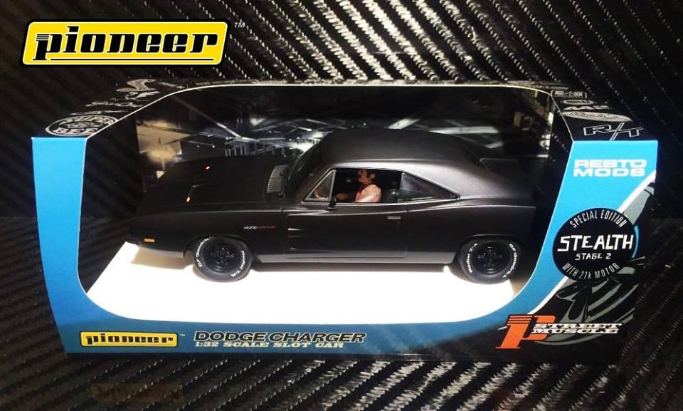 "Pioneer Slot: Deux Dodge Charger 1969 ""Stealth"" en approche"