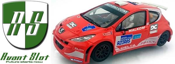 Avant Slot: la Peugeot 207 S2000 Rallye des Açores 2012