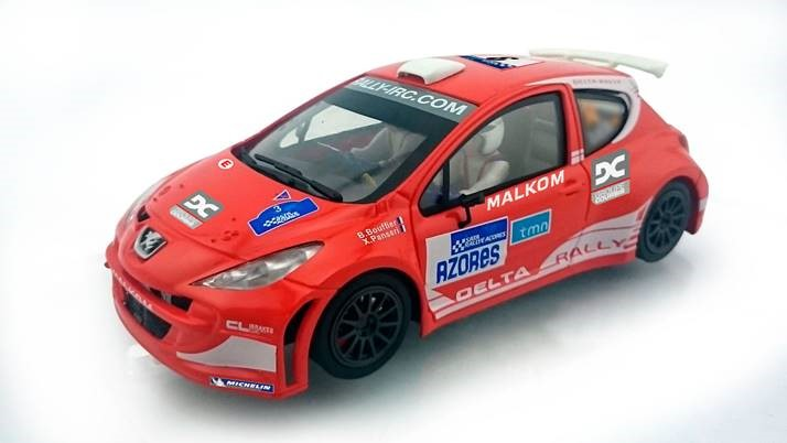 Avant Slot la Peugeot 207 S2000 Rallye des Açores 2012