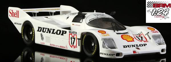 BRM: Cinq Porsche 962C Groupe C à l'échelle 1/24