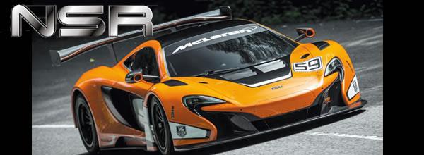 NSR Slot: Le projet de McLaren 650S pour le slot est annulé