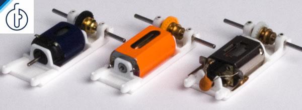 Olifer: Des supports moteur en impression 3D pour Slot Car