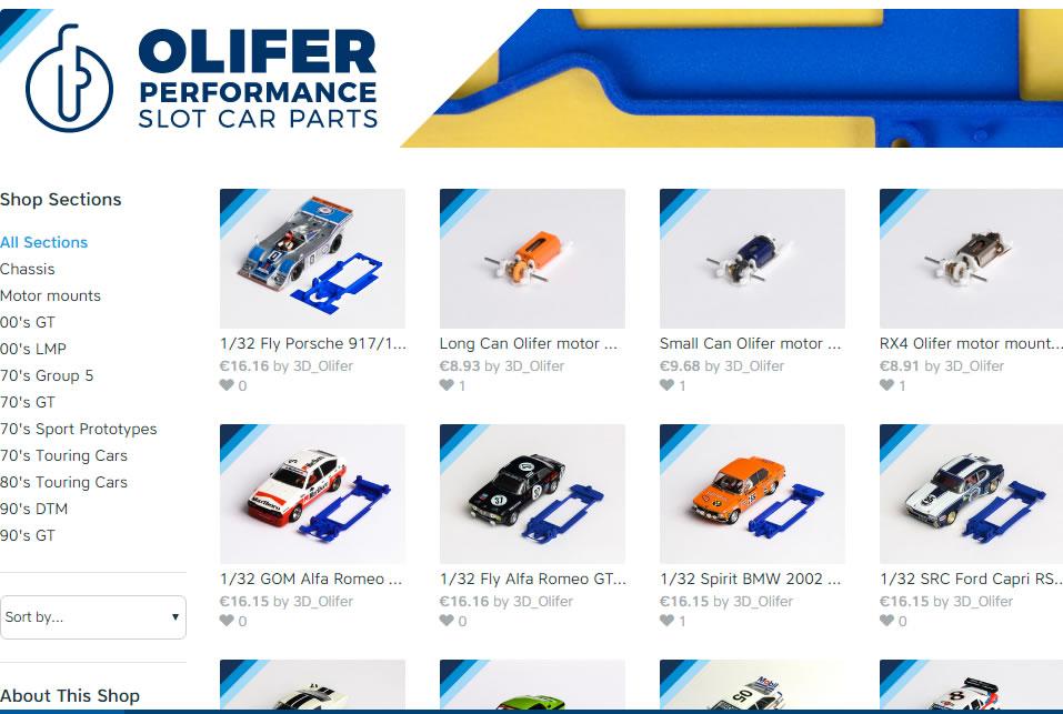 Boutique impression 3D Olifer_performance