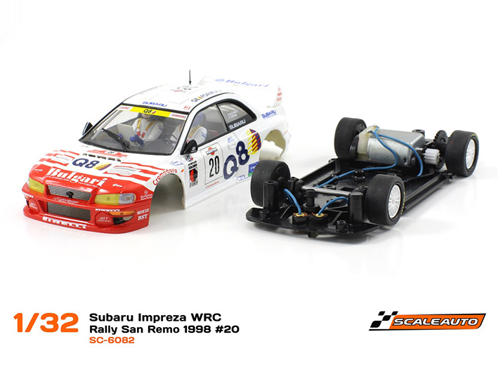 la Subaru Impreza WRC Rallye San Remo 1998 #20 SC-6082-07