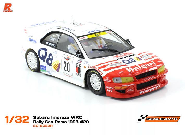 la Subaru Impreza WRC Rallye San Remo 1998 #20 SC-6082-02