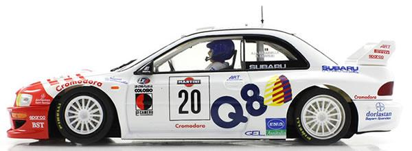Scaleauto: La Subaru Impreza WRC Rallye San Remo 1998 #20