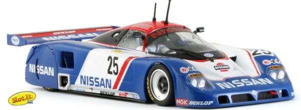 Slot.it: la Nissan R90V #25 24h Le Mans 1989 - CA28DSlot.it: la Nissan R90V #25 24h Le Mans 1989 - CA28D