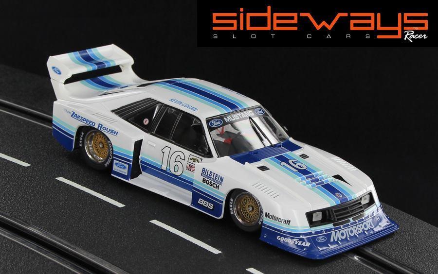 Sideways: Ford Mustang Turbo Imsa Road Atlanta 1982