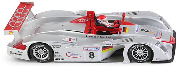 Slot it: L'Audi R8 LMP 1/32 pour le slot racing arrive