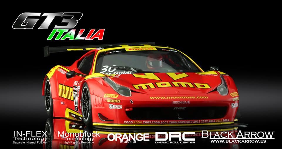 Black Arrow: La GT3 Italia Momo Red 2015 est disponible