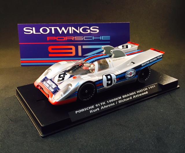 SlotWings: Porsche 917k 1.000 kms Brands Hatch 1971
