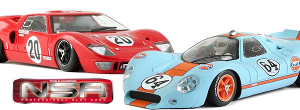 NSR Slot: Deux voitures de slot dans la catégorie Classic pour Septembre 2016