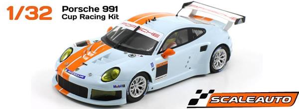 Scaleauto: Des Porsche 991 GT3 Cup Racing à l'échelle 1/32