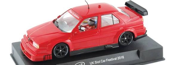 Slot it: L'Alfa Romeo 155 DTM slot car festival 2016