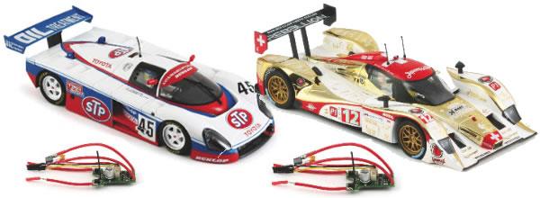 Slot it: Une série de voitures de slot équipées de puce oXigen