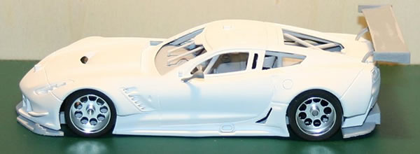 The Area71 Slotcars: Chevrolet Corvette C7R en impression 3D