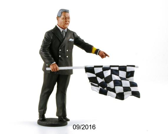 Le Mans miniatures: la figurine du directeur de course Echelle 1/18ème