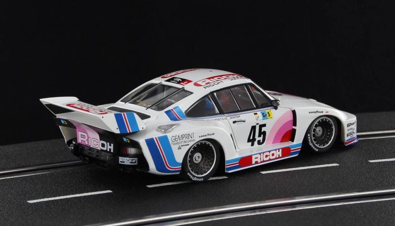 Sideways: la Porsche 935 K2  Ricoh Kremer Le Mans 24hrs 1978