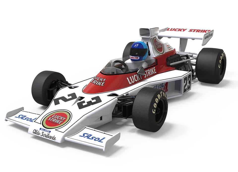 SRC/OSC: la McLaren F1 M23 GP d'Afrique du Sud 1974