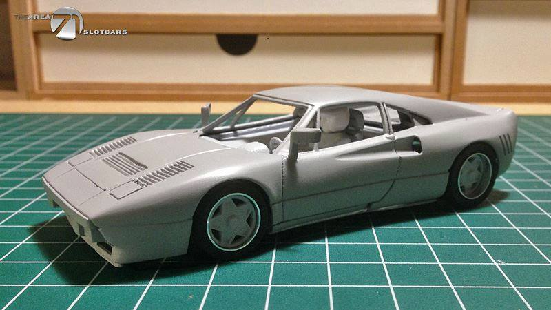 "Aera71 Slotcars: Ferrari 288 GTO ""Clubsport Edition"""