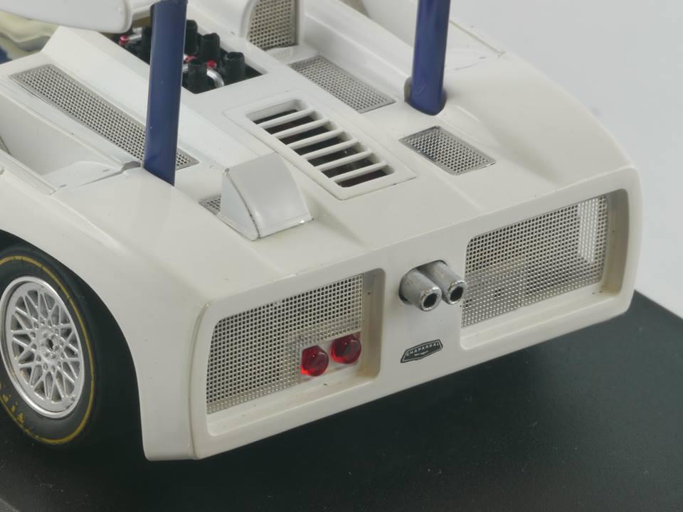 Slot it: Des modifications sur la carrosserie de la prochaine Chaparral 2D