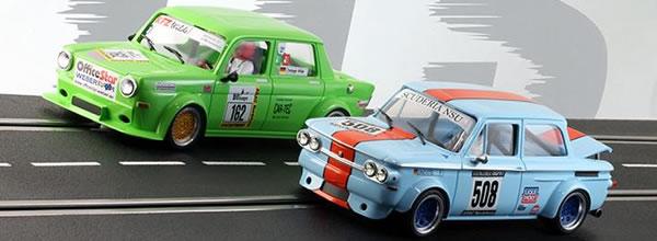 BRM & TTS: Des Simca 1000 et NSU TT à l'echelle 1/24 pour le slot