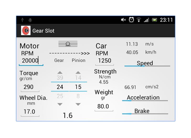 Gear Slot
