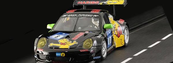 NSR Slot: la Porsche GT3 RSR #8, Haribo Racing en approche