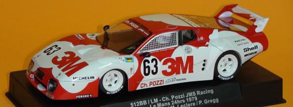 Sideways: La Ferrari 512bb/Lm #63 3M (SW47) arrive en boutique