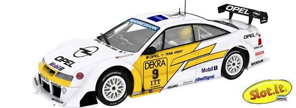 Slot it: L' Opel Calibra V6 - #9 DTM/ITC Hockenheimring