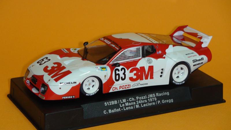 Sideways 512BB/Lm #63 Le Mans 24hrs 1979 – JMS Racing – 3M
