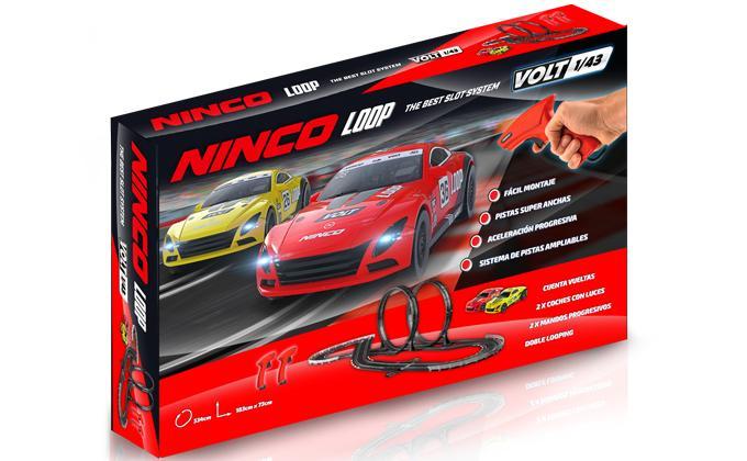 Ninco: Le coffret Ninco Loop à l'échelle 1/43