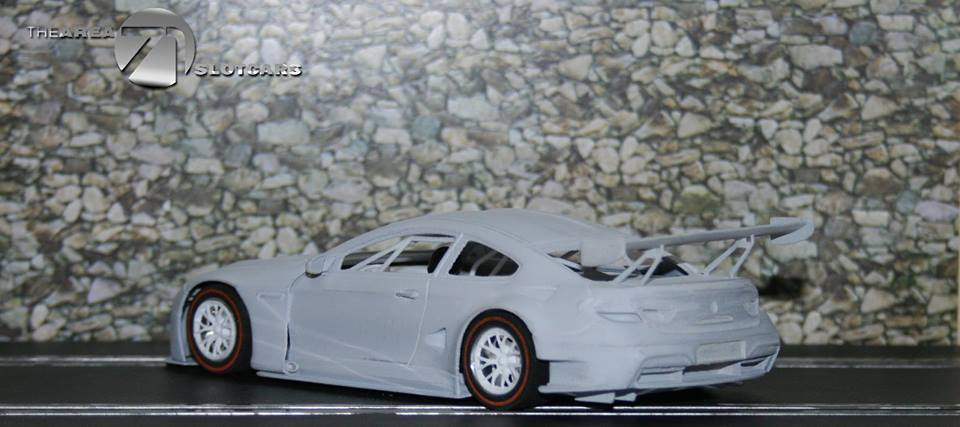 The Area71 Slotcars: le Kit impression 3D de la BMW M6 GT3