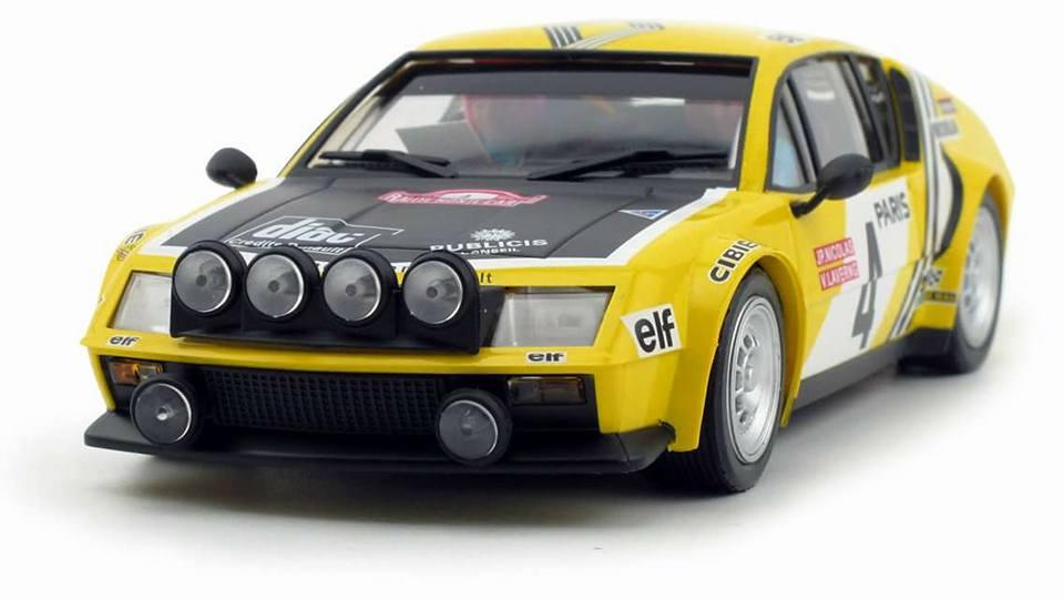 Avant Slot: Alpine Renault A310 #4 Monte Carlo 1976
