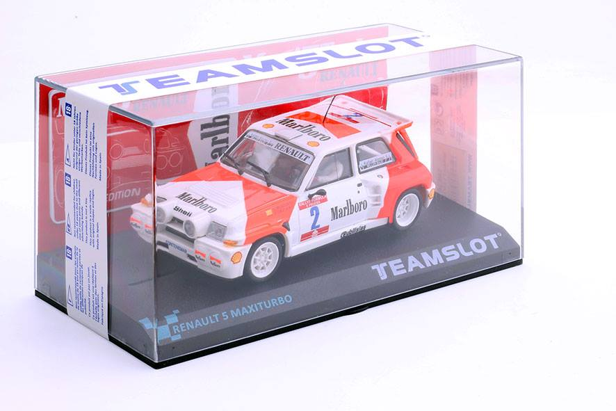 TeamSlot: la Renault 5 Maxi Turbo Marlboro #2