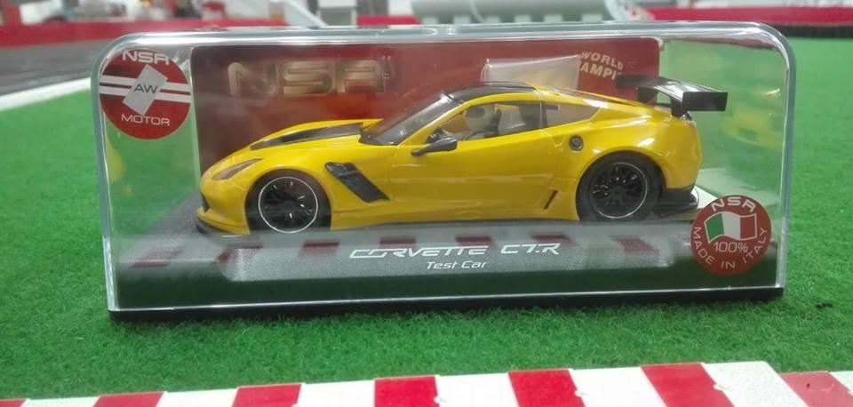 Corvette C7R Gt3 LMS Test Car