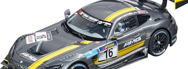 """Carrera: la Mercedes-AMG GT3 """"No.16"""" Carrera DIGITAL 132 30767"""